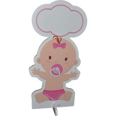 Dojenček ob rojstvu otroka deklica, stadur, 54.2x105.5cm