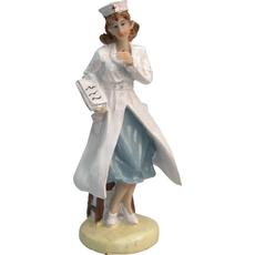 Medicinska sestra s kartoteko 6x5x18,5cm