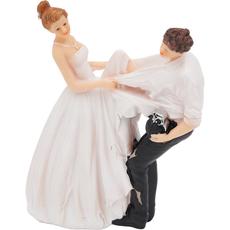 Nevesta trga obleko z ženina z granato, dekorativna figura Material: polimasa Mere: 11,1 x 8,2 x 17,8 cm