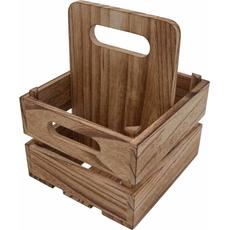Stojalo leseno za pivo, za 4 kose, 17.5x15.5x22cm