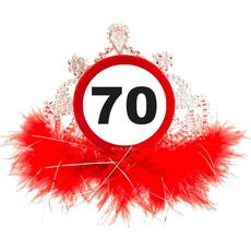 Tiara, prometni znak 70