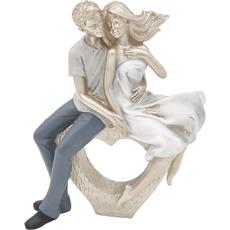 Zaljubljen par na srcu,16X6.5X20cm, polimasa