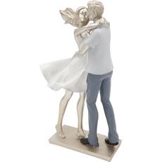 Zaljubljen par v objemu, 19X10X32cm, polimasa