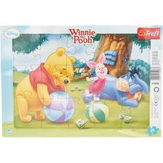 Puzzle, Medvedek PU, 15kosov, 33.5x23cm