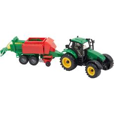 Traktor s prikolico, ter pripomočki, 30cm