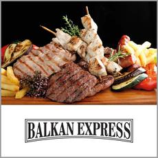 """{[sl]:Plošča """"Balkan Express"""" za 2 osebi, Imperio restavracije, Ljubljana (Vrednostni"""