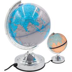 Namizna svetilka, globus, PVC, 31cm, 220-240V/50Hz, 140cm kabel