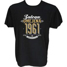 Majica-Zaloga omejena 1961-takšnih ne delajo več XXL-črna