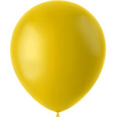 Baloni rumeni - mat, iz lateksa, 50kom, 33cm