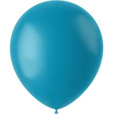 Baloni turkizno modri - mat, iz lateksa, 50kom, 33cm
