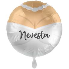 Balon napihljiv, za helij, Nevesta, 43 cm