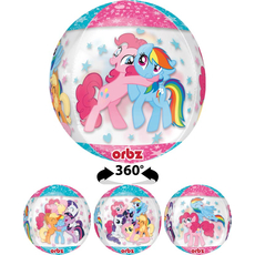 Balon napihljiv, za helij, otroški, My Little Pony, 38x40cm