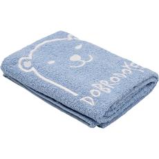 Brisača za rojstvo, medo, Dobrodočel, svetlo modra, 100x50cm, 100% bombač