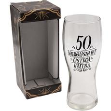 Kozarec za pivo, 50 najboljših let čistega užitka, 600ml