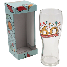 Kozarec za pivo, 60let, zorjen z občutkom, 600ml