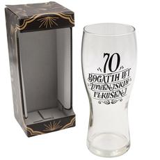 Kozarec za pivo, 70 bogatih let življennjskih izkušenj, 600ml