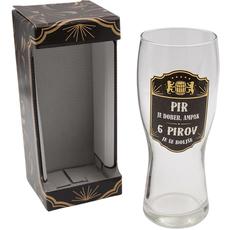 Kozarec za pivo, Pir je dober, ampak..., 600ml