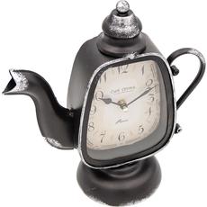 Ura namizna, kovinska, vrč za čaj, 25x11.5x26cm