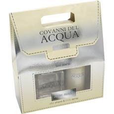 Darilni set JM Covanni del Acqua moški (Voda po britju 100ml + deo 150ml)