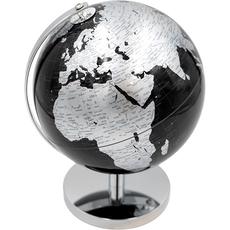 Globus, črno-srebrn, PVC, 21cm