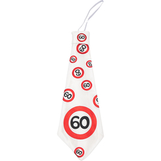 Kravata iz blaga - prometni znak 60,  31cm