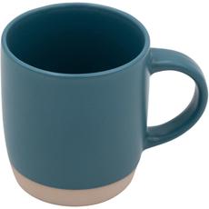 Lonček za kavo moder, kamenina, 31ml