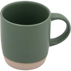 Lonček za kavo zelen, kamenina, 31ml