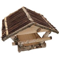 Ptičja hišica, lesena, 38x32x26/29cm