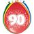 Baloni barvni iz lateksa, 90, 8kom, 3Ocm